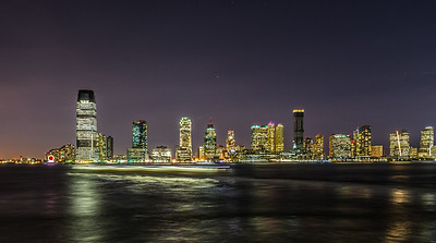 Jersey City Skyline at night