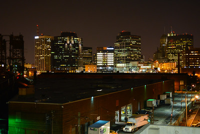 Downtown Newark Skyline