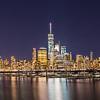 Lower Manhattan viewed from Newport Waterfront