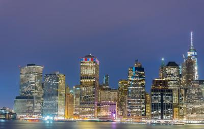 Lower Manhattan Skyline taken from Brooklyn Heights