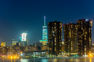 Lower Manhattan viewed from LIC