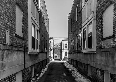 Apartment Back Alleyway