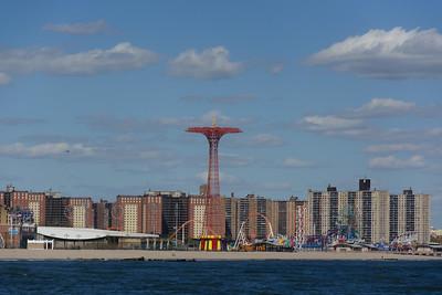 Coney Island Skyline