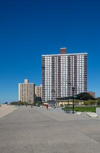 Towering along the Boardwalk