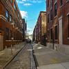 Quiet Back Alley in Philadelphia
