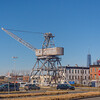 Old lonely Crane