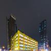 Boxy Yellow Building