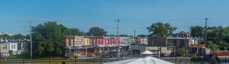 Colorful Rowhouses