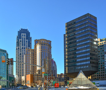 Skyscrapers of Downtown Boston