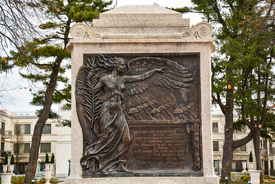 Soilders Memorial at the Morristown Green