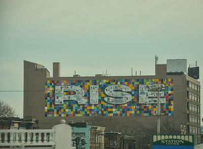 RISE Mural