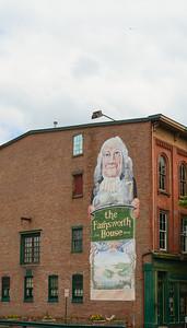 The Farnsworth House Mural