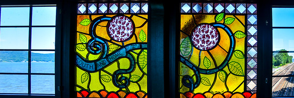 Philipse Manor Stain Glass