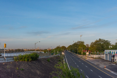Near Empty Raymond Boulevard