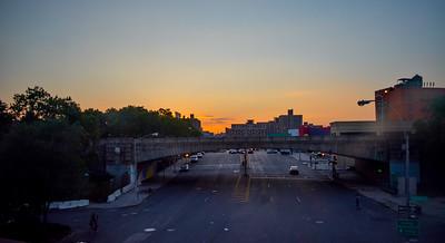 138th Street Sunset