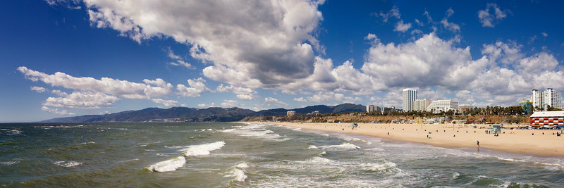 Santa Monica Beach and coastline to Point Dume. 2006