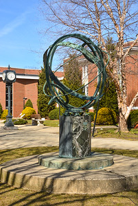 Bloomfield Public Library Sculpture