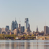 Philadelphia Skyline viewed from Camden