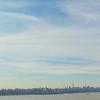 Manhattan skyline viewed from George Washington Bridge