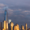 Lower Manhattan at Sunset