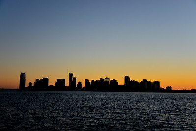 Jersey City Silhouette