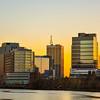 Downtown Newark Skyline at Sunset