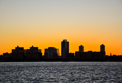 Hoboken Skyline at Sunset