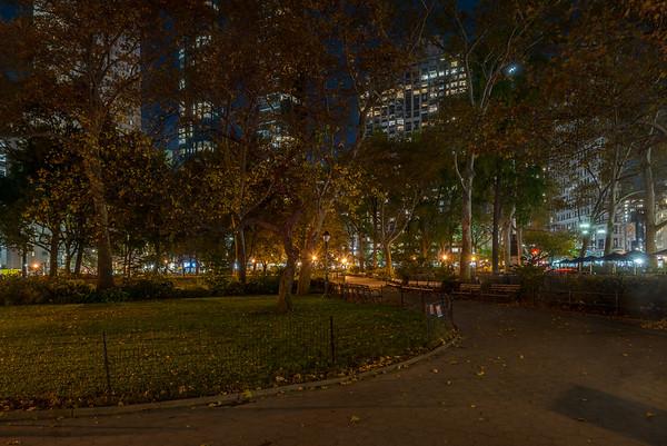 Quiet Square Park