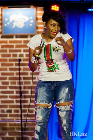Comedians Arvin Mitchel, LadyRe, Dawildcat, Princeton Drew, Church314 performng in the duck Room at blueberry Hill Sat Aug 12th, 2018
