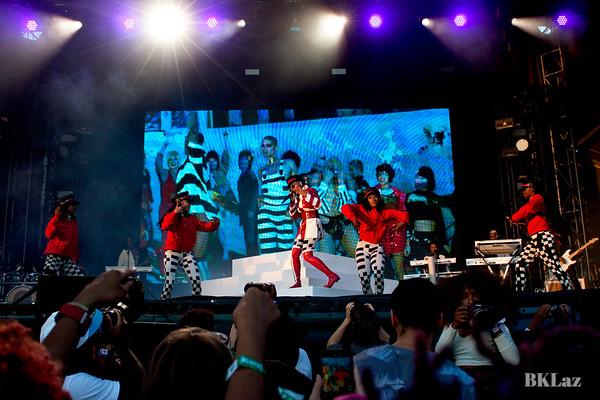 The Fabulous Janelle Monae performing onstage at MemphoFest 2018