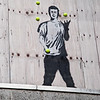 Graffitti - Same artist - different building - Newcastle