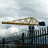 Crane Near Wallsend on River Tyne.