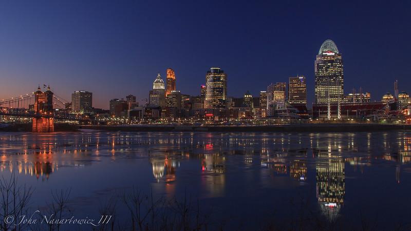 Ice on the Ohio...