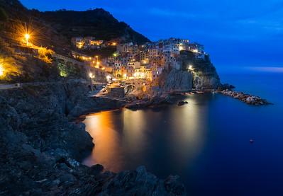 Italy-Cinque Terre-Manarola-Italian Riviera-Ligurian Sea