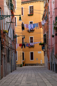 Venice-Italy-Street Scenes-Castello District