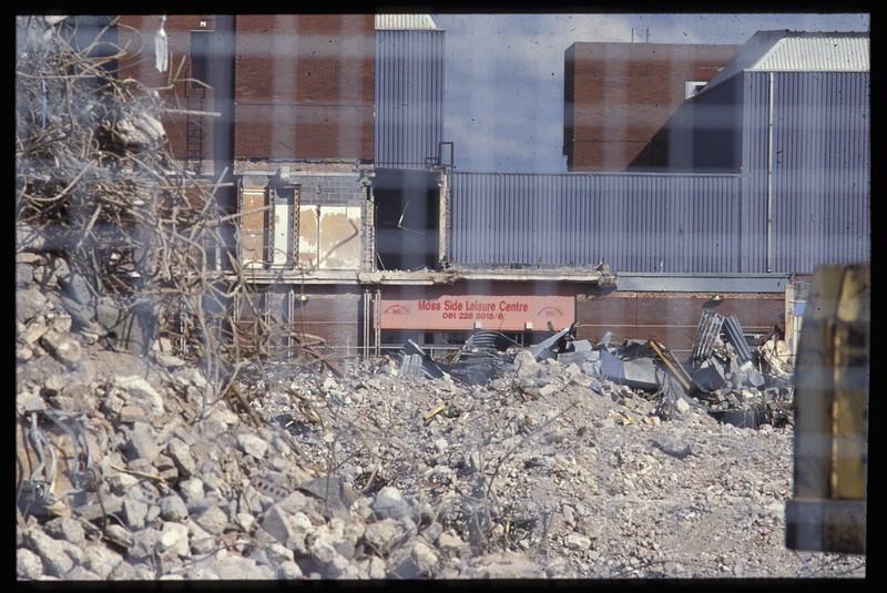 leaisure centre thru rubble