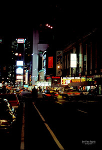 Ballade nocturne New-York 1986