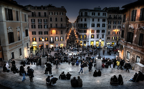 Theatre of life (Spanish steps)