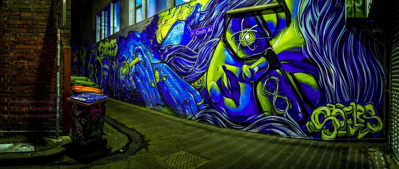 Croft Alley, Melbourne, Victoria, Australia