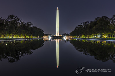Lincoln Memorial Reflecting Pool || Washington, D.C., USA  Canon EOS 6D w/ EF24-70mm f/2.8L II USM: 61mm @ 30.0 sec, f/22, ISO 800
