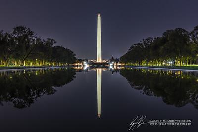 Lincoln Memorial Reflecting Pool || Washington, D.C., USA  Canon EOS 6D w/ EF24-70mm f/2.8L II USM: 61mm @ 30.0 sec, f/22, ISO 800