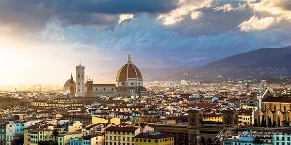 Il Duomo di Firenze || Florence, Italy  Canon EOS 6D w/ EF70-200mm f/2.8L USM: 70mm @ ¹⁄₅₀ sec, f/8, ISO 100