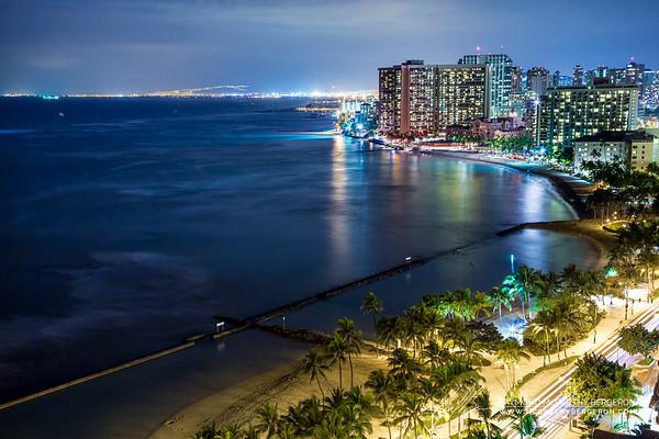 Oahu, Hawaii, USA  Canon EOS 6D w/ EF24-105mm f/4L IS USM: 45mm @ 20.0 sec, f/9, ISO 400