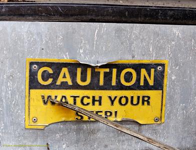 Trolley Caution