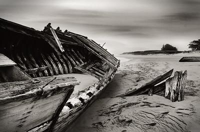 Etel Boat Graveyard