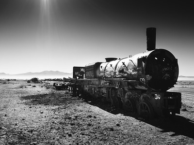 Bolivian Train Graveyard