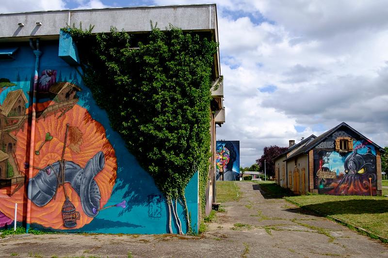 Street Art City, Lurcy-Levis