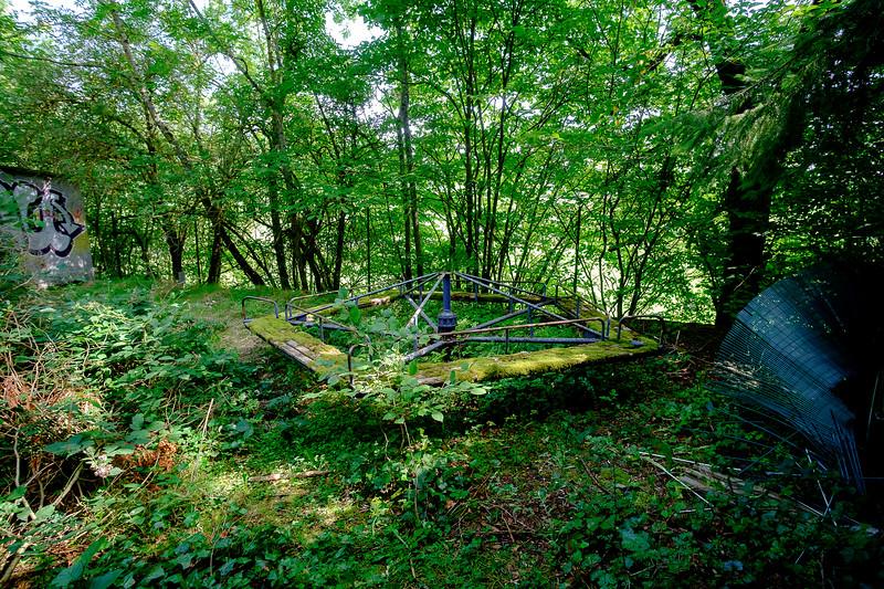Zoo abandonné, Puy-de-Dôme.