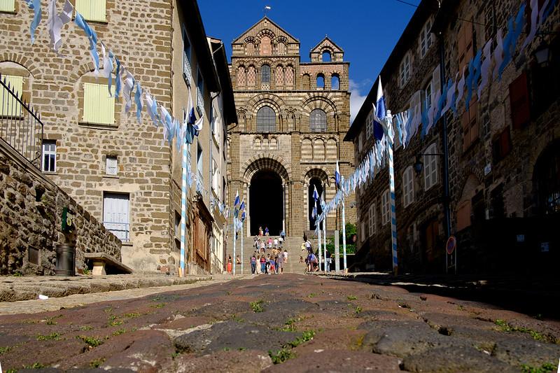 Le Puy en Velay, Haute-Loire : cathédrale.