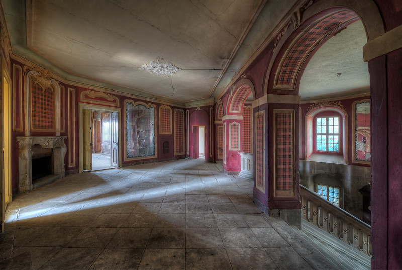 Lightpad - This abandoned castle has so many cool angles to take different shots. Just open up some of the doors and the light makes some great patterns.